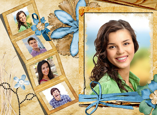 Online photo card maker with lots of greeting card templates – Online Greeting Card Template