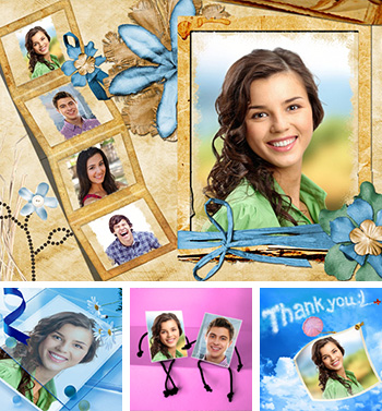 online photo card maker with lots of greeting card templates, Birthday card