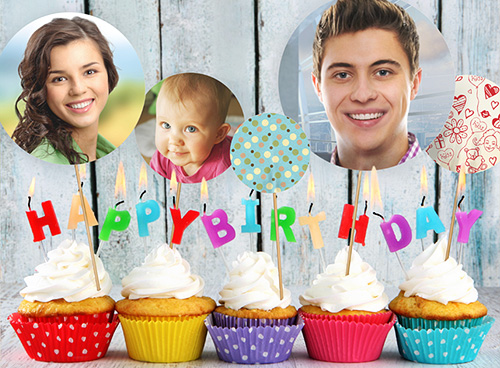 Online photo card maker with lots of greeting card templates – Online Photo Birthday Cards